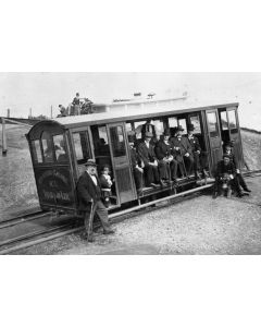 The launch of the cable car service
