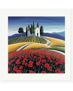 Poppies of Provence - Diana Adams