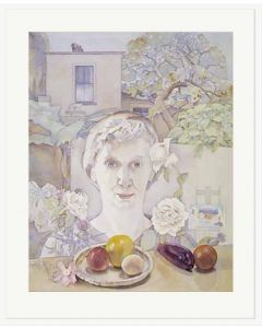 Self Portrait with Fruit - Rita Angus