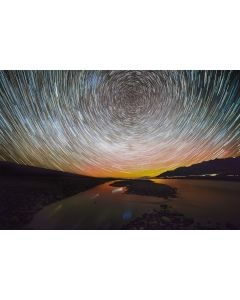 Lake Pukakai Star Trails - Patrick Moore
