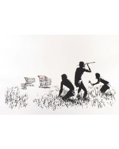 Trolley Hunter - Banksy