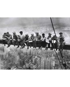 Lunchtime atop a skyscraper - Charles Ebbets